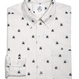 BLACK FLEECE BY Brooks Brothers - Fleece Embroidered Button Down Shirt