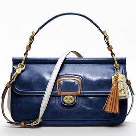 Coach - Poppy Leather Colorblock City Willis
