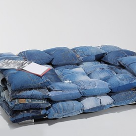 KARE - Sofa Jeans Cushions 2-Seater