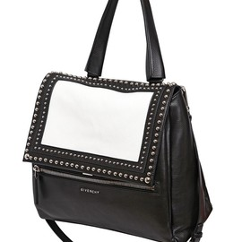 GIVENCHY - SS2015 MEDIUM PANDORA PURE STUDDED LEATHER BAG