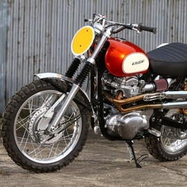 james whitham - kawasaki w650 tracker