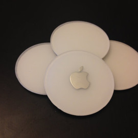 randall180 - 4 inch drink coasters made from recycled iMac G4s
