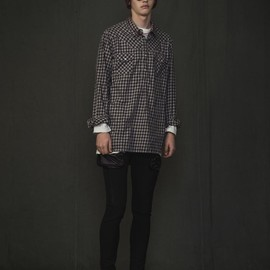 UNDERCOVERISM - Pull Over Check Shirt