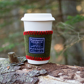 Faribault Woolen Mill - Coffee Cup Wool Sleeve