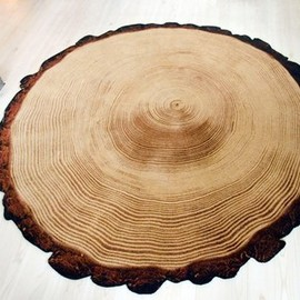 YLdesign - Woody Wood rug