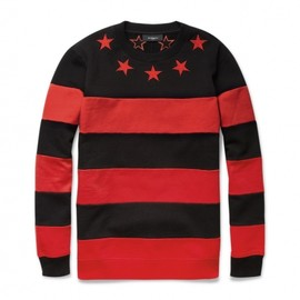 GIVENCHY - Striped Cotton Jersey Sweater