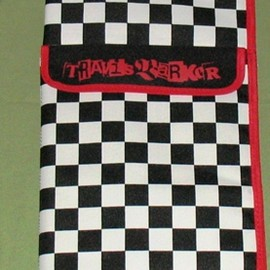 Zildjian - Zildjian Travis Barker drum stick bag.