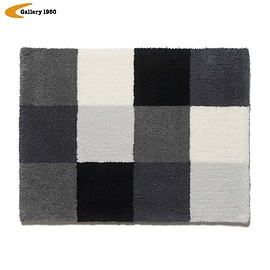 Gallery1950, uniform eperiment - COLOR CHART SMALL RUG MAT(GRAY CHART)