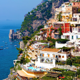 Positano, italy. Amalfi Coast - Photo