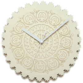 miraco - miracle Clock WHITE