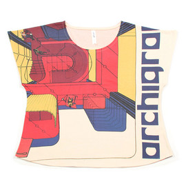graniph - Archigram Box Tee B(Archigram Design #50)
