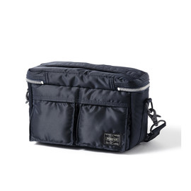 "HEAD PORTER - ""TANKER-STANDARD"" CAMERA BAG (S) NAVY"