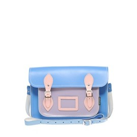 Zatchels - Color Block Leather Satchel