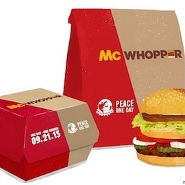 Burger King, McDonald's - McWHOPPER
