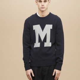 YMC - Long Sleeve Crew Neck (navy)