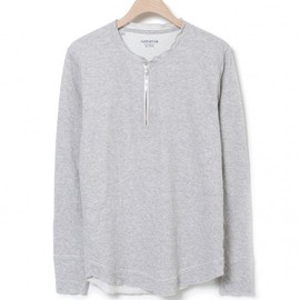 nonnative - WANDERER PULLOVER – COTTON W FACE JERSEY