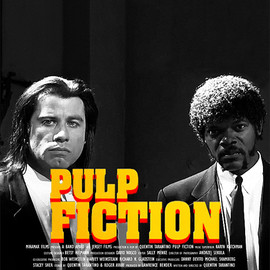 Quentin Tarantino - Pulp Fiction - Animation GIF