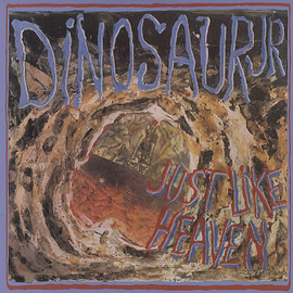 "Dinosaur jr. - Just Like Heaven : 3-track 12"" viny single, SST Records 1989"