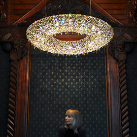 Manooi - ATOLL crystal chandelier