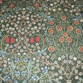 Blackthorn wallpaper late C19th