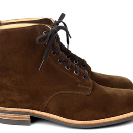 Mark McNairy New Amsterdam - Mark McNairy x Inventory Snuff Suede Dainite Sole Derby Boot