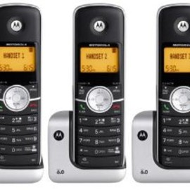 Motorola - MOTOROLA L404 DECT 6.0 Cordless Phone with Caller ID, Digital Answering Machine and Speakerphone (4 Handset System)