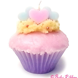 Baby Ribbon - Heart Candle☆