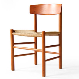 FDB - Børge Mogensen J49 Fredericia Cherry Shaker Dining Chairs