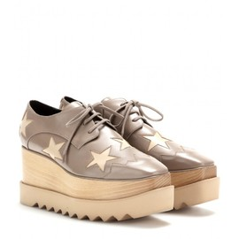 STELLA McCARTNEY - FW2014 90MM STARS ALTER NAPPA LACE UP SHOES