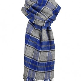 dents - Lambswool Bold Check Scarf