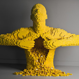 Art of the Brick: Nathan Sawayas LEGO Solo Show in New York sculpture Lego