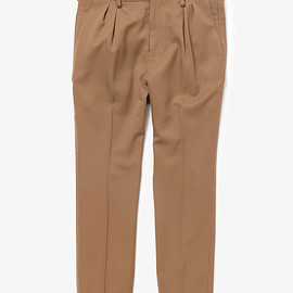 NONNATIVE - PORTER SLACKS WOOL TWILL