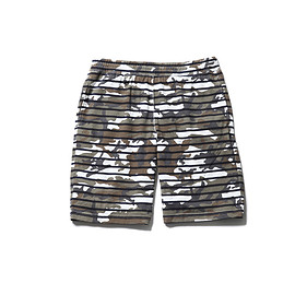 SOPHNET. - OVER PRINT BORDER SHORTS
