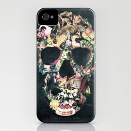 Society6 - Vintage Skull iPhone Case