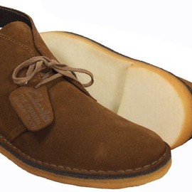 "Clarks - desert boot (colour is ""cola"")"