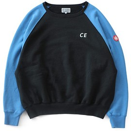 C.E - Loose Fit Crew Neck #3 (black/blue)