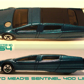 Hotwheels - Syd Mead's Sentinel 400 Limo