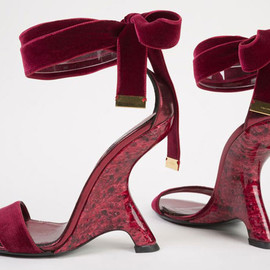 TOM FORD - heels, spring 2012 for Shoes Obsession: Extraordinary heels