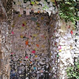 Verona, Italy - Romeo and Juliet's Wall of Love