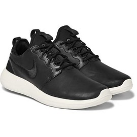 Nike - Nikelab Roshe Two Mesh-Trimmed Leather Sneakers