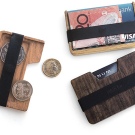 Poquito - A Little Wood Wallet