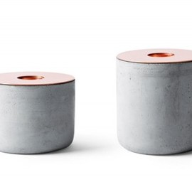 "Andreas Engesvik - ""Menu"" Chunk candle sticks"