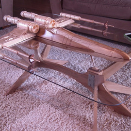 Barry Shields - Star Wars X-Wing Coffee Table