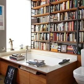 Bathroom Library