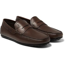 Tod's - City Gommino Leather Loafers