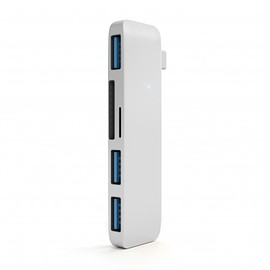 Satechi - Type-C USB 3.0 3 in 1 Combo Hub