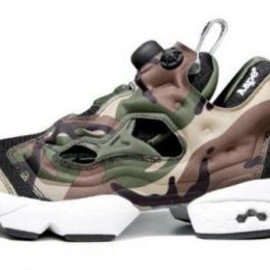 Reebok - AAPE BY A BATHING APE × REEBOK INTSA PUMP FURY CAMO