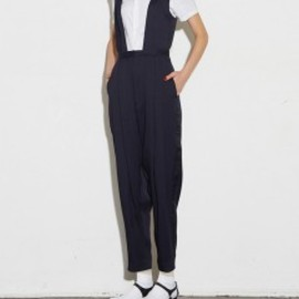 TOGA - Doeskin Jumpsuits (navy)