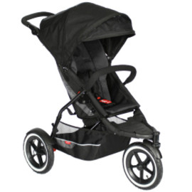 double stroller VIBE Red/Black
