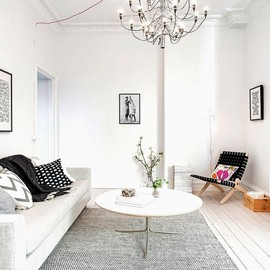 my scandinavian home: Swedish apartment in white and grey - my scandinavian home: Swedish apartment in white and grey